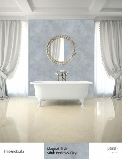 Farby Biała łazienka Ponadczasowa Elegancja