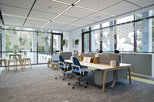 przestrze dla inspiracji office inspiration centre grupy nowy styl. Black Bedroom Furniture Sets. Home Design Ideas