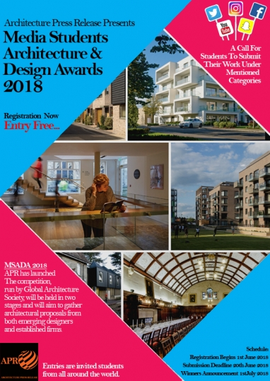 Media Students Architecture & Design Awards 2018