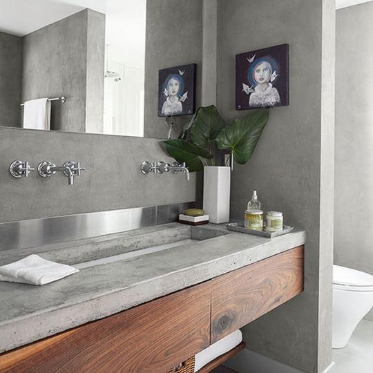 Beton Architektoniczny Luxum Masa Betonowa W łazience