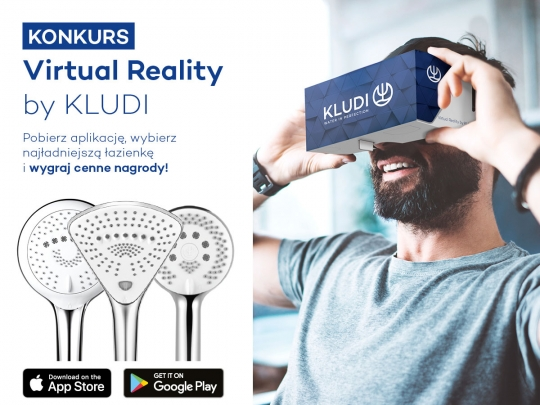 "Konkurs KLUDI na Facebooku ""Virtual Reality by KLUDI"""