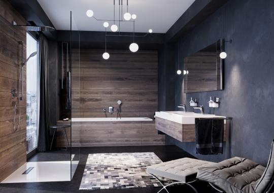 Kreatywnie I Nowocześnie Projekt Modnej łazienki