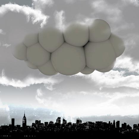 Płynąca chmura