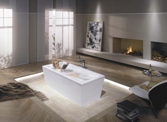 system kaldewei sound wave zadba o wi teczny nastr j oraz. Black Bedroom Furniture Sets. Home Design Ideas