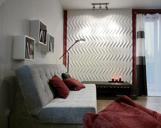 Architekt ścienne Rewolucje Panele Dekoracyjne 3d Dunes