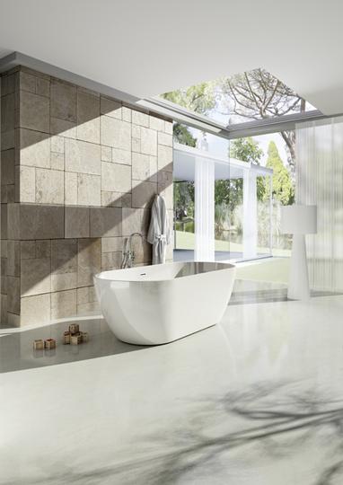 Pokój kąpielowy - łazienka z wyspą :. infoArchitekta.pl