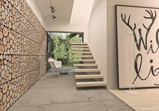 Oryginalne ścienne Panele Drewniane Z Serii Wood Collection