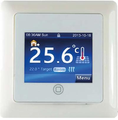 Ogrzewanie Nowosc Regulator Temperatury Z Ekranem Dotykowym Rtd 01 Infoarchitekta Pl