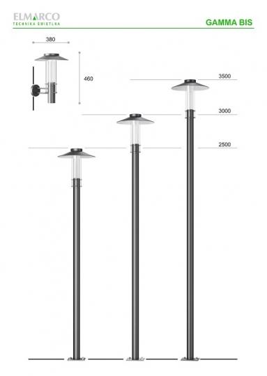 Lampy Ogrodowe I Parkowe Inspiracje Elmarco