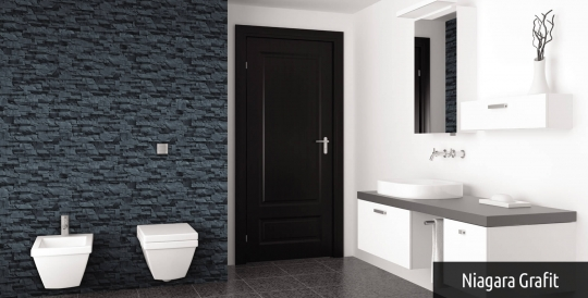 łazienka Pełna Elegancji Kamień Dekoracyjny W łazience
