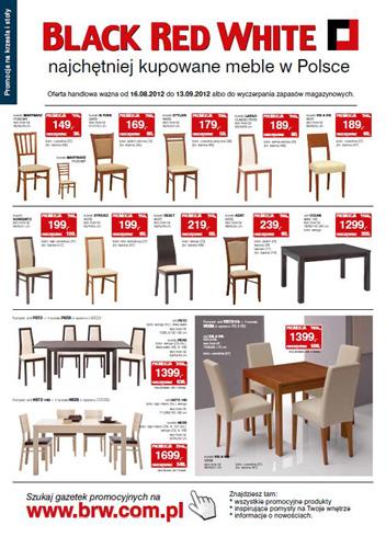 stół drewniany plus krzesła blach red white