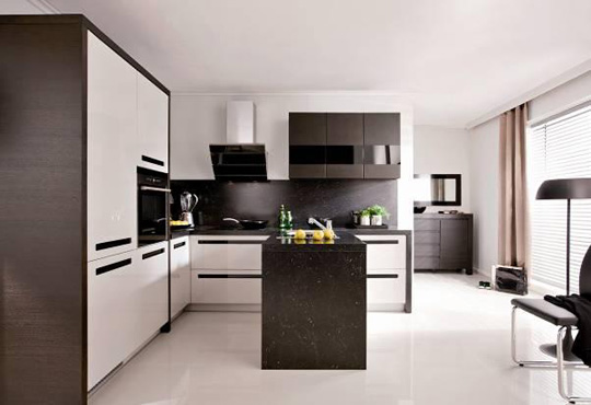 Kuchnia Meble Black Red White Produktami Roku 2012