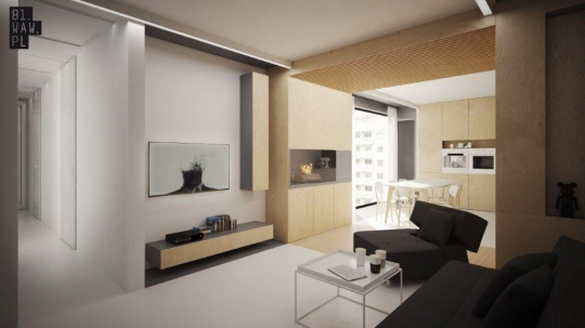Wnętrze Pod Kreskę Czyli Połączenie Dwóch Mieszkań