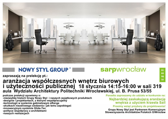 aran acja wsp czesnych wn trz nowy styl group. Black Bedroom Furniture Sets. Home Design Ideas