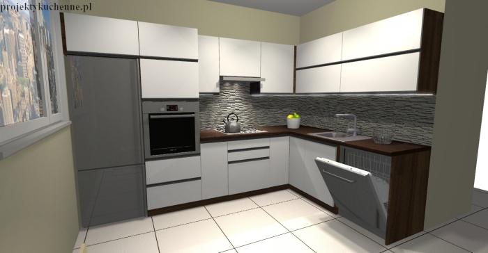 projekty mebli kuchennych fot 1