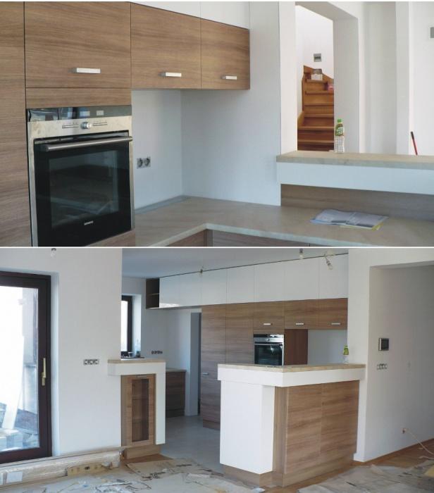 kuchnia otwarta na salon fot 5 -> Kuchnia Pol Otwarta