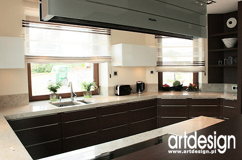 Aranżacja Wnętrz Kuchni Fot 5 Artdesign Biuro Projektowe